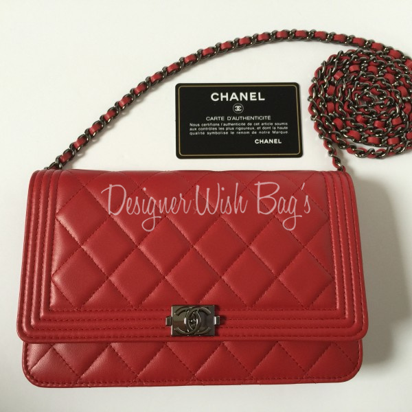 chanel wallet on chain red wwwpixsharkcom images