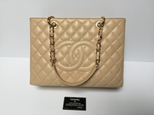 f9e38a50407c Chanel GST Beige Caviar Leather. IMG_8838. IMG_8825. IMG_8807