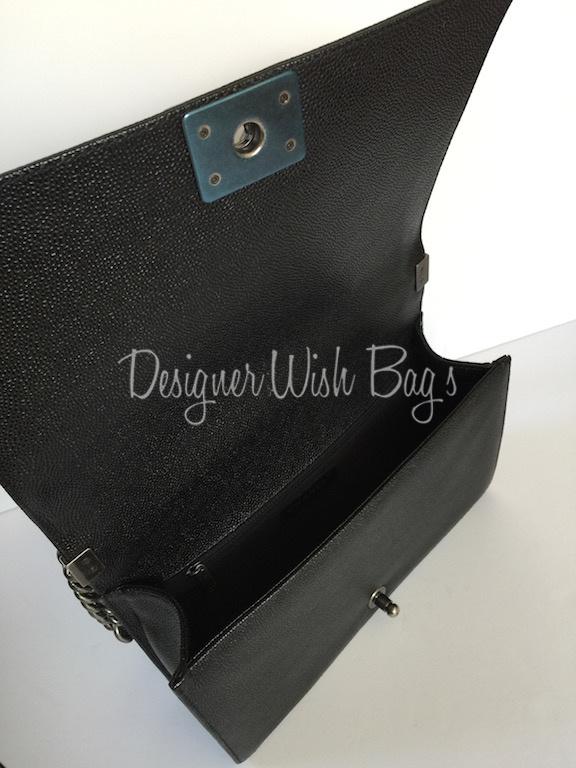 6c3b6261480328 Chanel Boy Bag New Medium 28cm Caviar Leather -