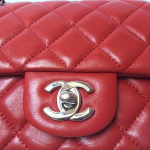 Chanel Mini Timeless Handbag Red LipstickDesigner handbags chanel handbags