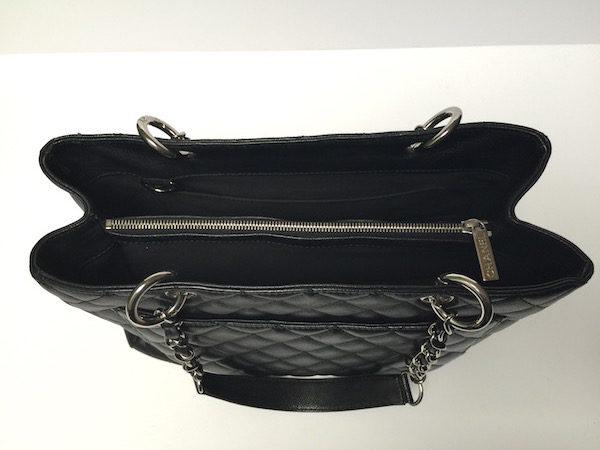 8e32ba7c5ddf Black Chanel handbag GST Bag