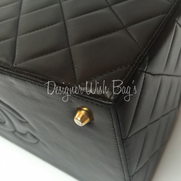 Chanel Handbags Rare Big Vintage Chanel Vanity Case