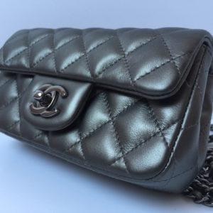 Chanel Mini Bag Dark GreyDesigner handbags chanel handbags
