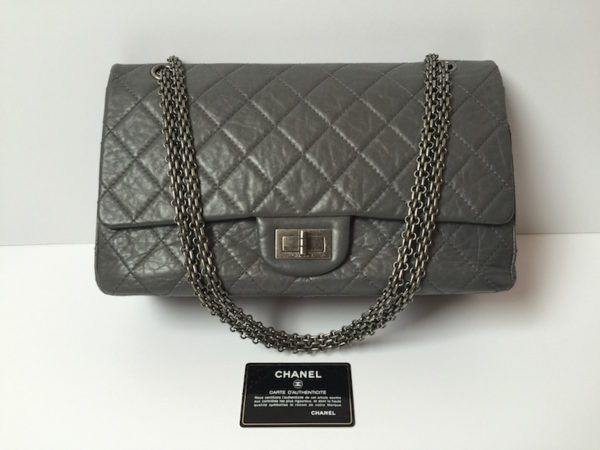 e2b00fe2159c Chanel Reissue Bag 227 Grey. IMG 0976. IMG 0980. IMG 0956