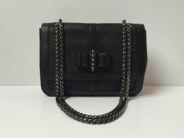 61e7da616e0 Christian Louboutin Sweet Charity All Black Bag