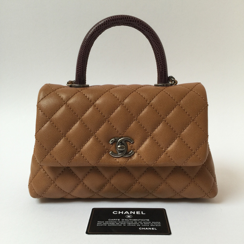 Quilted Tote Chanel Coco Fla...