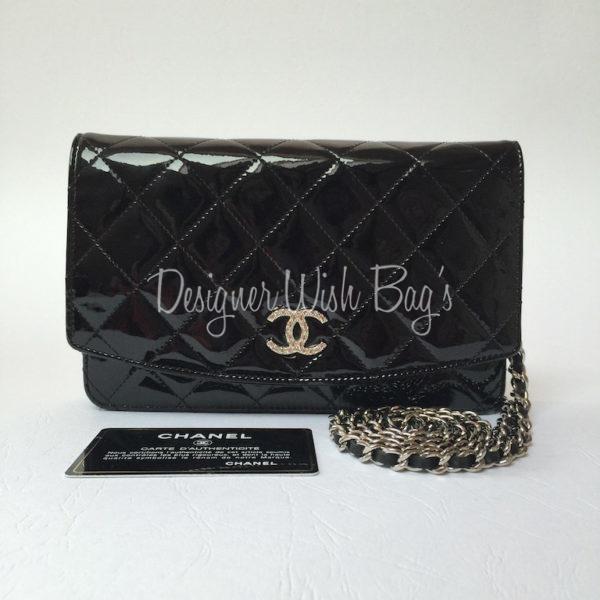 93925740d6eb Chanel WOC Black Patent Leather -