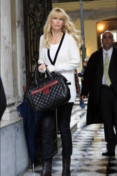 Chanel Bags: Claudia Schiffer Chose Coco Cocoon