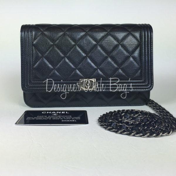 Chanel WOC Boy Black Calf Skin - ef535019d6e