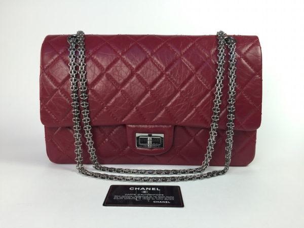 1a98bb8078a7 Chanel Reissue 2.55 Bordeaux/Burgundy -