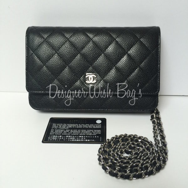 a3e7140fd Chanel WOC Black Caviar NEW 2016 -