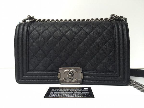 dcf1f55c5ce2b4 Chanel Boy Medium Black Caviar – NEW!!! IMG_4986. IMG_5001. IMG_4962