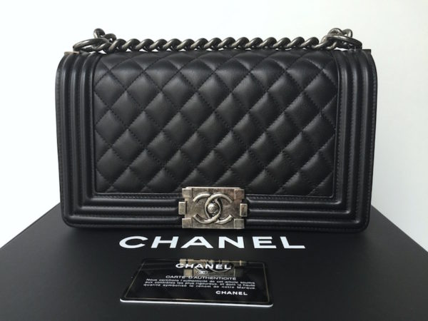 Chanel Boy Bag Old Medium Size Img 7281 7285 7260