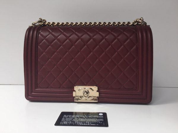33a7c2f9f779 Chanel Boy New Medium Burgundy. IMG_7719. IMG_7706. IMG_7683