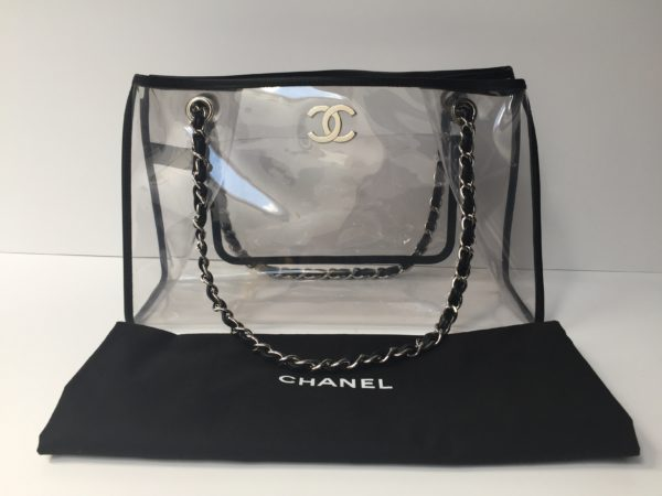 Chanel Quot See Through Quot Vinyl Bag