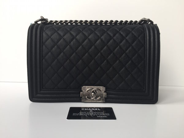 e6e994ddc4e9 Chanel Boy New Medium Caviar – Brand New 2016. IMG_8223. IMG_8236. IMG_8280