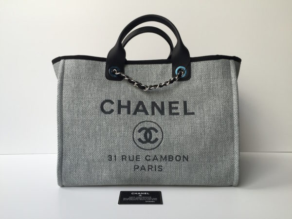 cb3995f5dd46 Chanel Deauville Large Shopping Bag – Brand New!! IMG_8384. IMG_8344.  IMG_8390