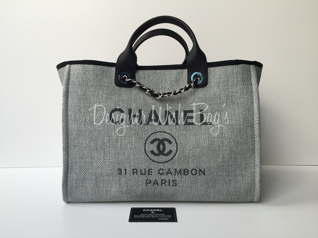 Chanel Deauville Large Shopping Bag Brand New