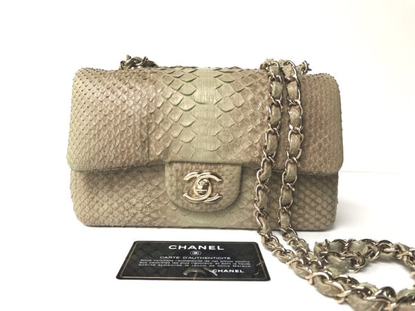 a9764aebf3f1 Chanel Mini Rectangular Python. img_6735. img_6736. img_6652