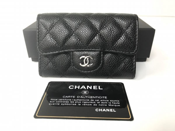 55f50994d7f7 Chanel Wallet - Card Holder Caviar -