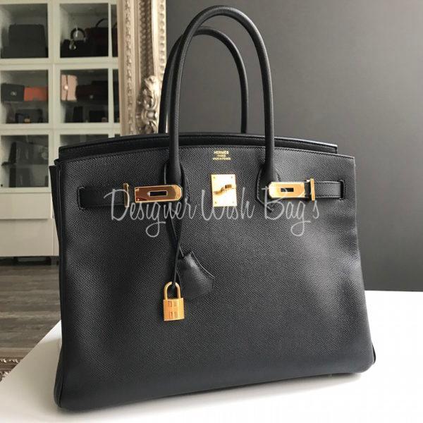 0aee02b703091 Hermès Birkin 35 Black Epson. IMG 5131. IMG 5132. IMG 5144