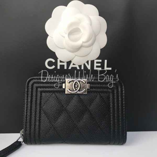7f4c6feaa88f Chanel Small Wallet Boy Caviar -