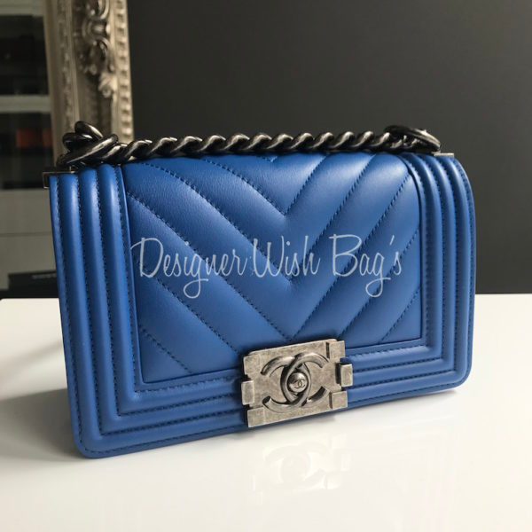 Chanel Boy Chevron Electric Blue. IMG 7060. IMG 7038. IMG 7036 e2d177222928