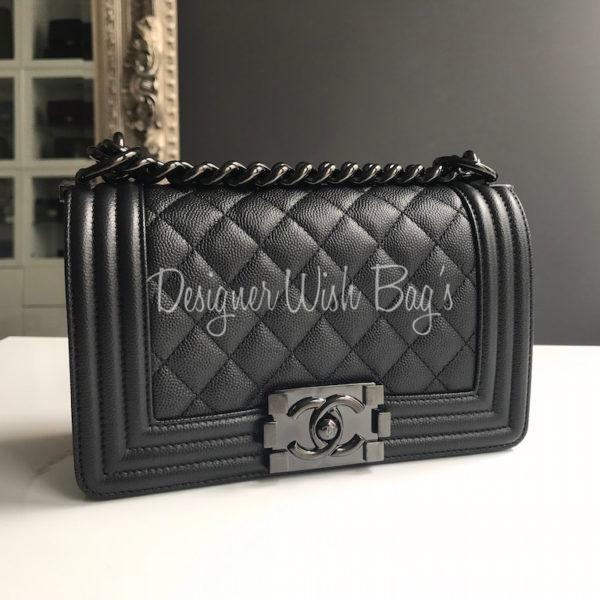 954182a4e90 Chanel Boy SO Black Caviar Small SS17. IMG 7211. IMG 7189 (1). IMG 7212