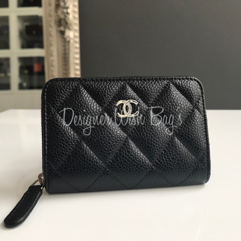 Chanel Small Zip Wallet Coin Purse Shw