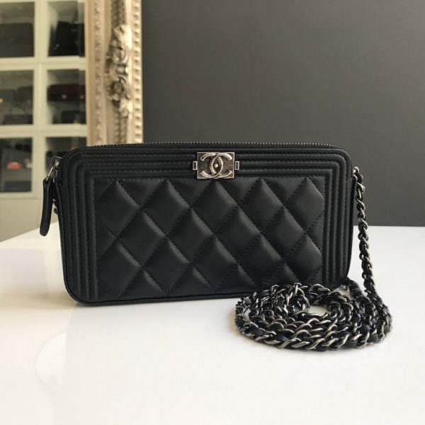 Chanel Boy Clutch with Detachable Chain. IMG 1443. IMG 1431. IMG 1554 383628bba