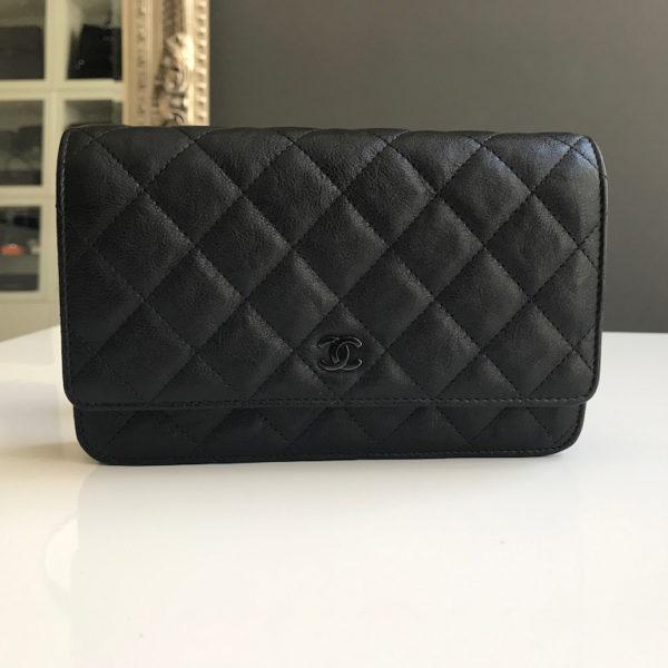 ce69905d6707 Chanel WOC So Black - New! -