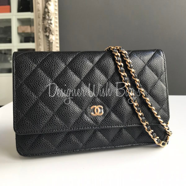 c51541398d19 Chanel WOC Black Caviar GHW - New!! -