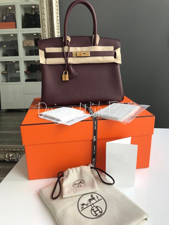 4a136368b2 Hermès Birkin 30 Burgundy Brand New! IMG 3318. IMG 3328. IMG 3290. IMG 3333