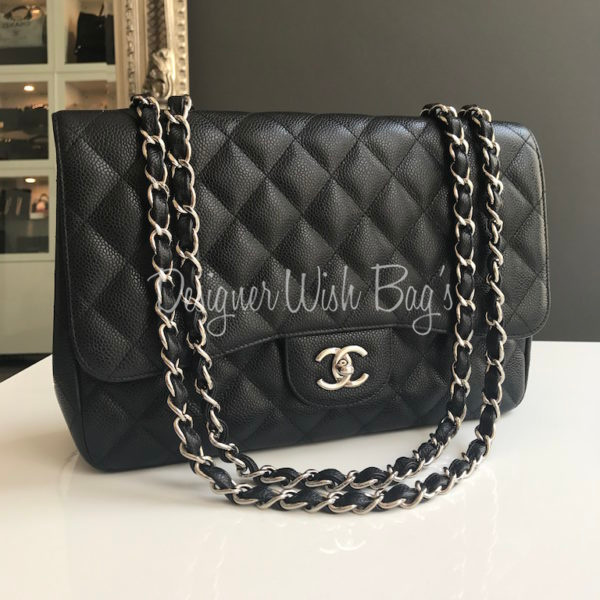 ddc005f8d0e304 Chanel Jumbo Single Flap Black. IMG_5262. IMG_5239. IMG_5245