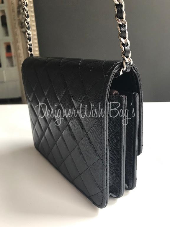 bcc76df7814f New Chanel WOC Square Black Caviar. IMG 6746
