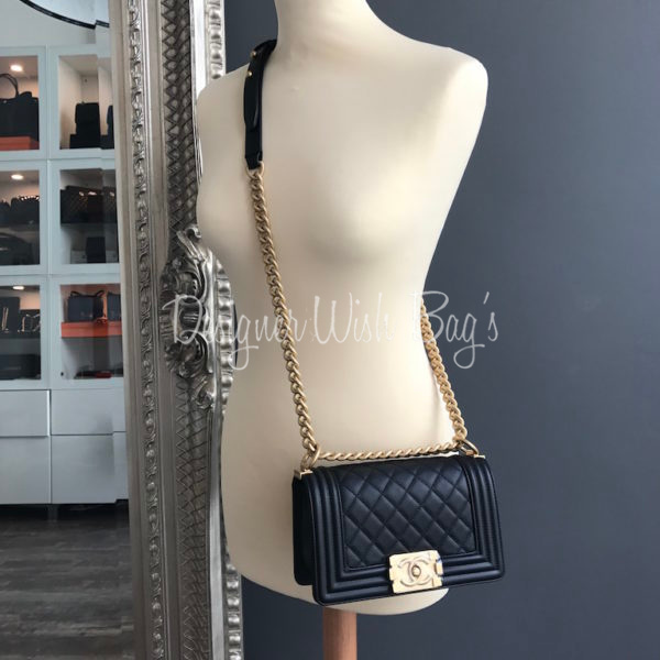 94c7c606517f Chanel Boy Small Black Caviar GHW New. IMG 6812. IMG 6792