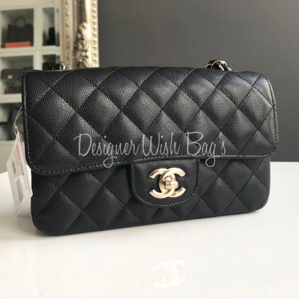 c0dcca8aeeee Chanel Mini Rectangular Black Caviar. IMG_7378. IMG_7302. IMG_7379