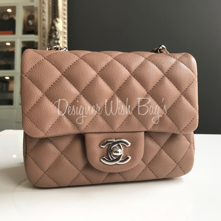 Brand New Chanel Mini Beige Caviar