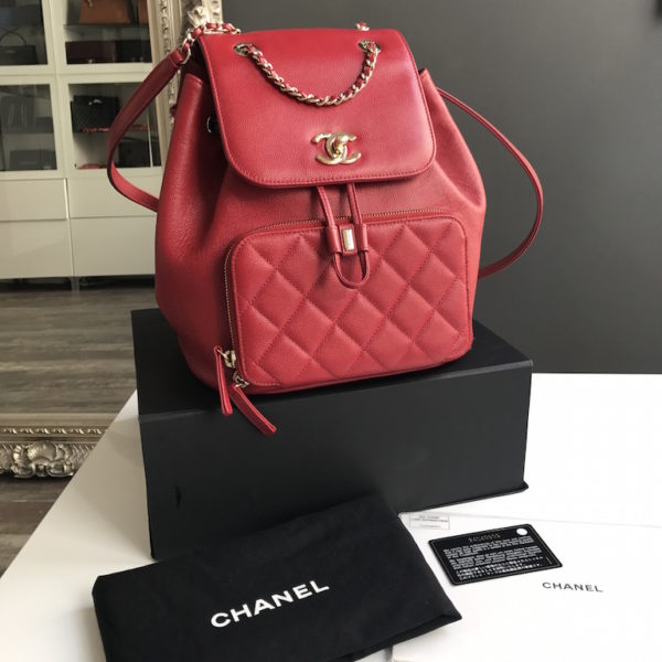 accfc8903e1e36 Chanel Business Affinity Backpack. IMG_2472