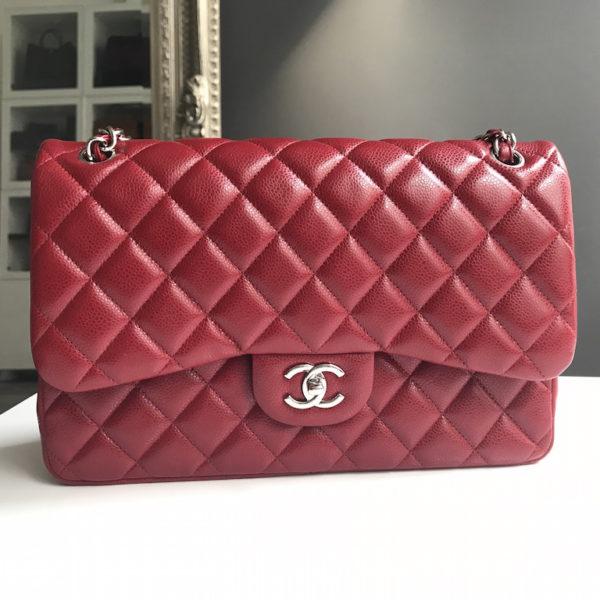 f8fbeddf084a Chanel Jumbo True Red Caviar. IMG_2845. IMG_2846. IMG_2848