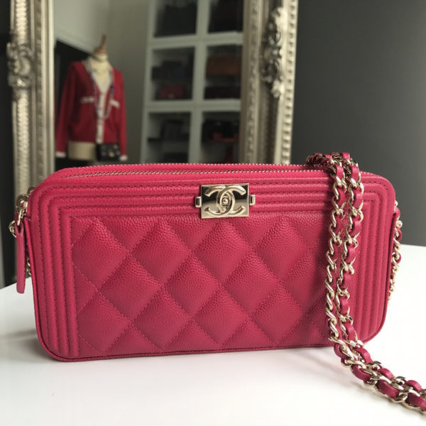 Chanel Clutch on Chain Fuchsia - 4c178e815e795