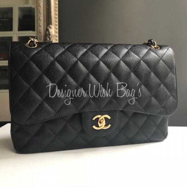 23ac6744f45d Chanel Jumbo Black Caviar GHW. IMG_3902. IMG_3903. IMG_3881
