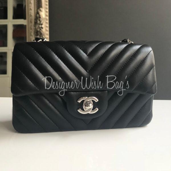 75e4a4834220 Chanel Mini Chevron Rectangular Black SHW – NEW! IMG_4536. IMG_4521.  IMG_4522