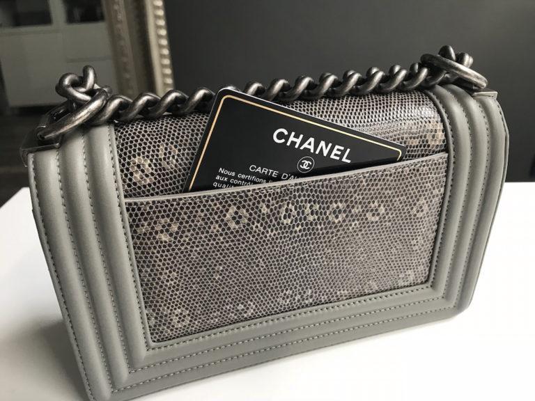 d7845843b695 Chanel Boy Grey Lizard. IMG 5053. IMG 5077. IMG 5054. IMG 5060