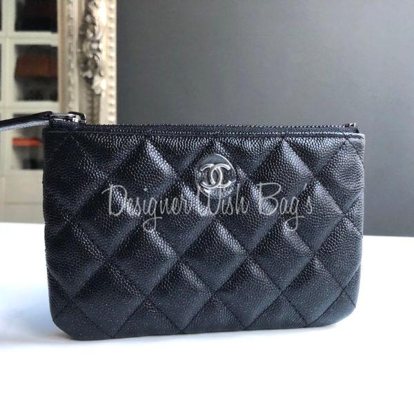 86fd8d648bdc Chanel O Case Iridescent Black Caviar -