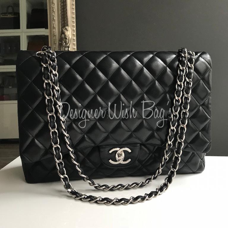 Chanel Maxi Black Lambskin