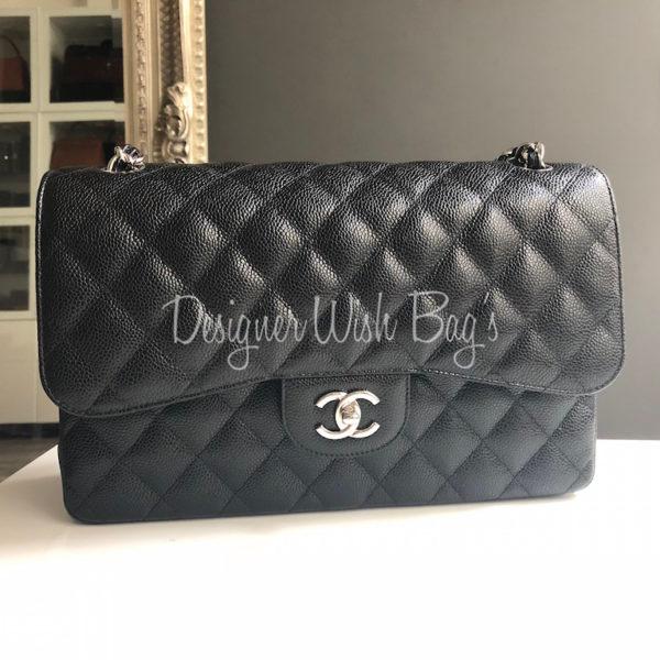 8f93e64d645dc5 Chanel Jumbo Black Caviar SHW New. IMG_1389. IMG_1365. IMG_1367