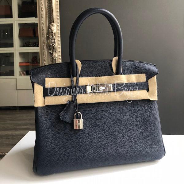 1fd1b8760d9b Hermès Birkin 30 Bleu Nuit. IMG 1461. IMG 1462. IMG 1418