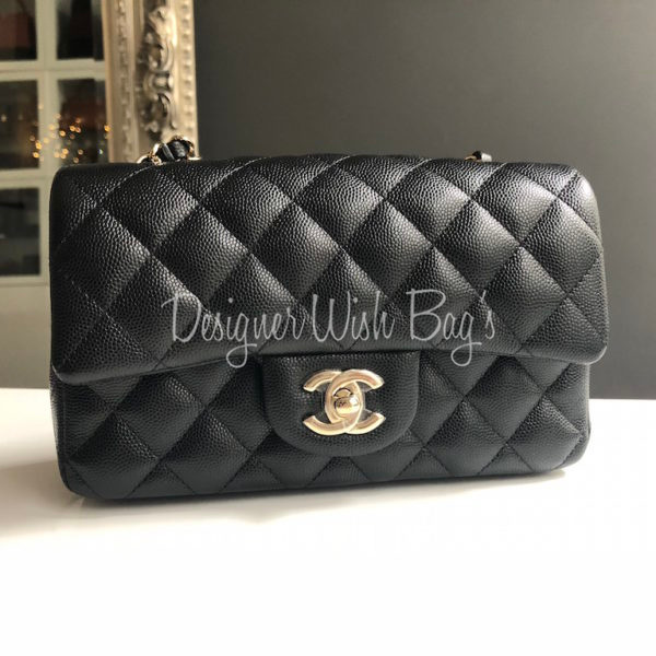 8970ff3ba71e Chanel Mini Black Caviar Rectangular -