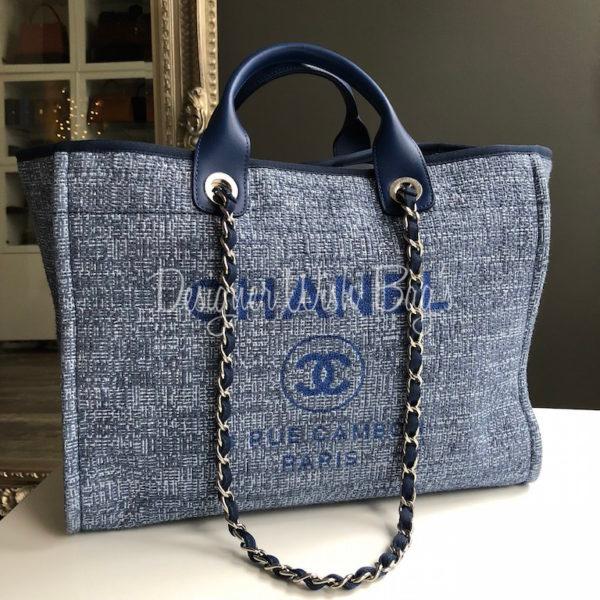 0f464c87b3ca Chanel Deauville Blue Glitter -